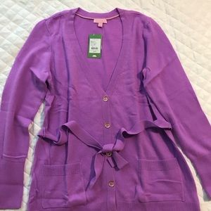 NWT Lilly Pulitzer cashmere sweater
